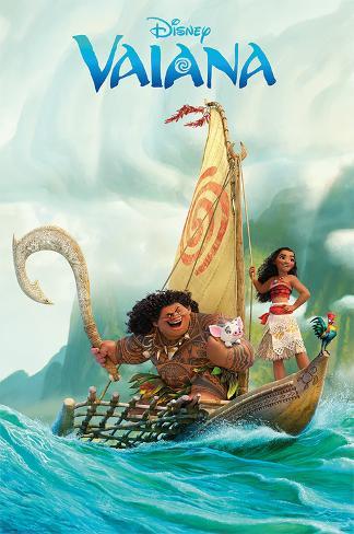 Disney: Vaiana- Open Water Adventure Poster