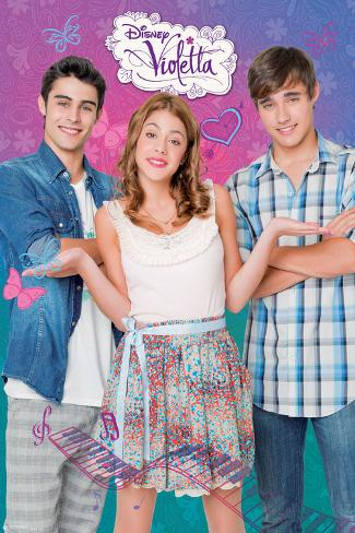 Disney Violetta III Poster