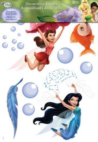 Disneys Fairies Decorative Decals Stickers