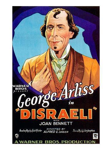 Disraeli, George Arliss, 1929 Fotografia