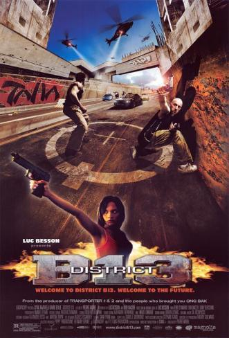 District B13 Masterprint