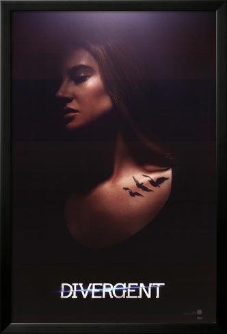 Divergent - Tris Framed Poster