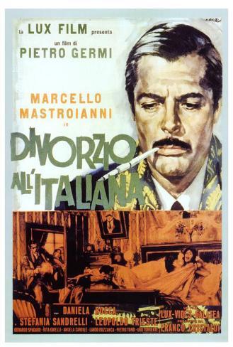 Divorce - Italian Style - Italian Style Poster