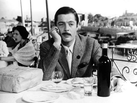 Divorce - Italian Style, Marcello Mastroianni, 1961 Photo