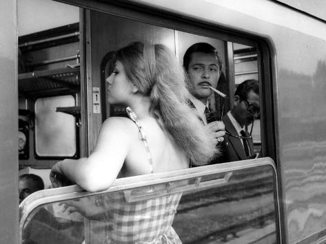 Divorce - Italian Style, Stefania Sandrelli, Marcello Mastroianni, 1961 Photo