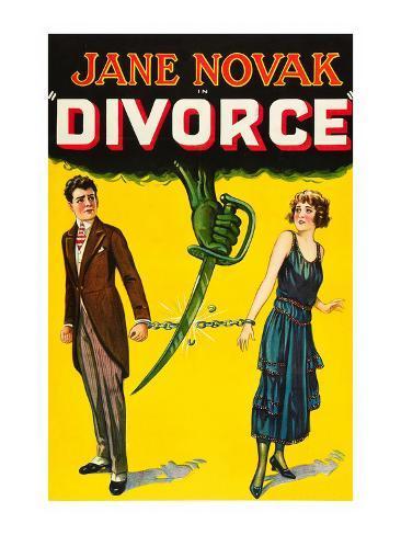 Divorce Art Print