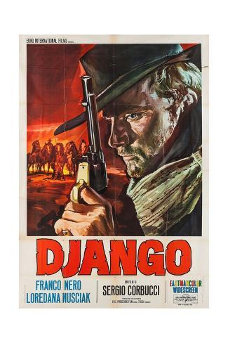Django, 1966 Giclee Print