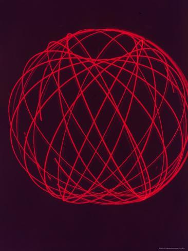 Plotting of Orbit of Sputnik I by Scientists at MIT Photographic Print