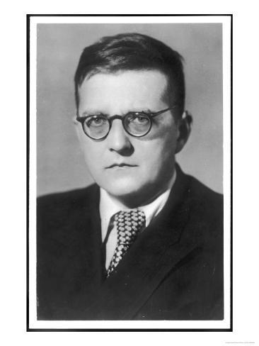 Dmitry Dmitriyevich Shostakovich Russian Composer Giclee Print