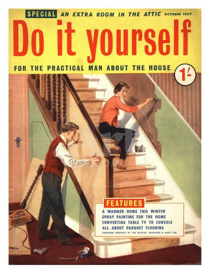 Do it yourself diy stairs decorating magazine uk 1950 photo at do it yourself diy stairs decorating magazine uk 1950 photo at allposters solutioingenieria Images