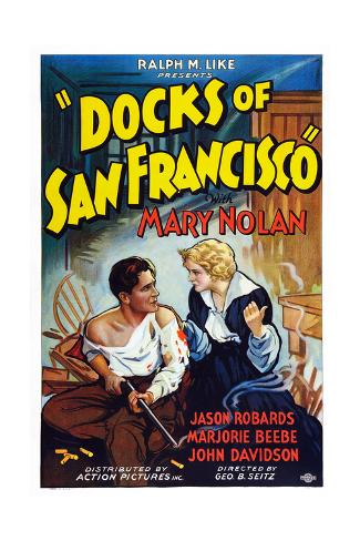 Docks of San Francisco Giclee Print