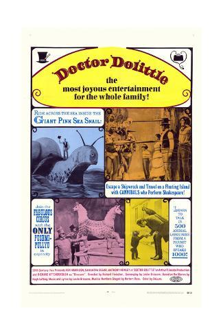 Doctor Dolittle Art Print