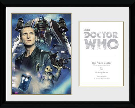 Doctor Who- 9th Doctor Chris Eccleston Collector Print