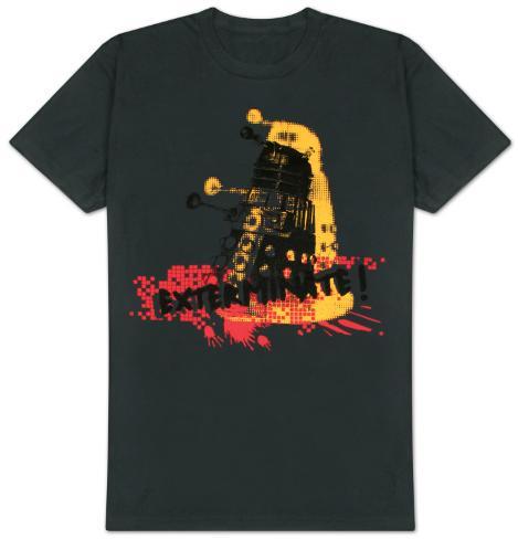Doctor Who - Dalek Exterminate! T-Shirt