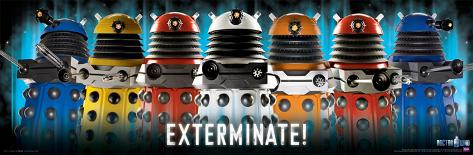 Doctor Who - Daleks Exterminate Poster