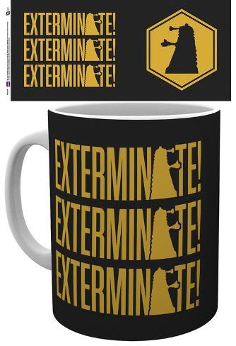 Doctor Who Exterminate Mug Mug