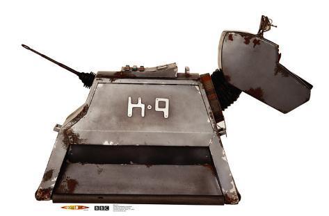 Doctor Who - K9 Lifesize Standup Cardboard Cutouts