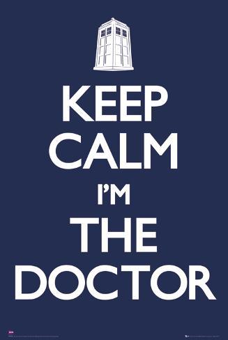 Doctor Who-Keep Calm Juliste