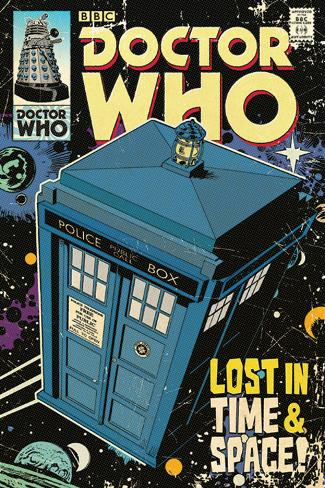 Doctor Who - Lost in Time & Space Poster