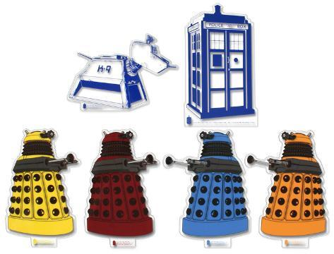 Doctor Who Sticker Set #1 Stickers