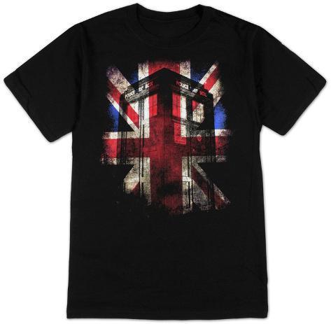 Doctor Who - Tardis Union Jack T-Shirt
