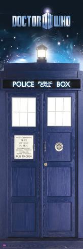 Doctor Who-Tardis Door Poster