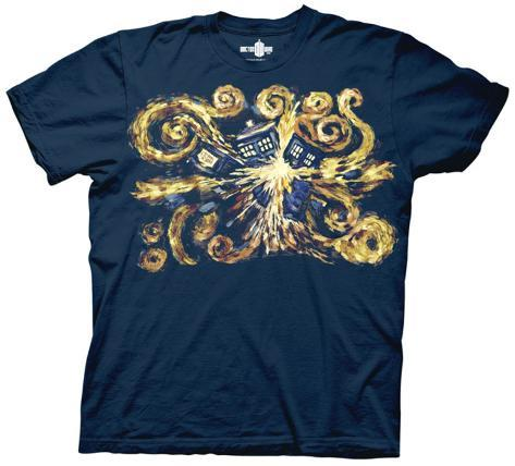 Doctor Who - Van Gogh The Pandoric Opens T-Shirt