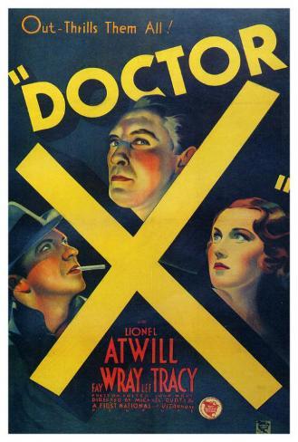 Doctor X ポスター