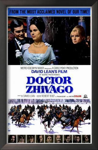 Doctor Zhivago Impressão artística emoldurada