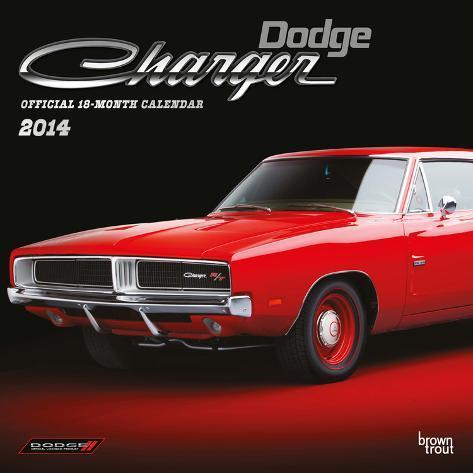 Dodge Charger - 2014 Calendar Calendars