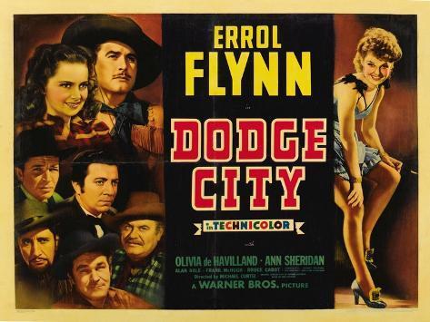 Dodge City, 1939 Impressão artística