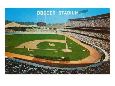 Dodger stadum los angeles california prints allposters for Dodger stadium wall mural