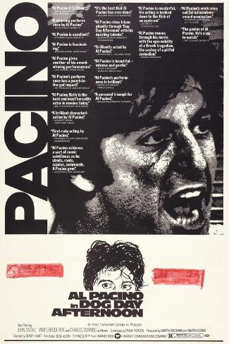 Dog Day Afternoon, Al Pacino, 1975 Art Print