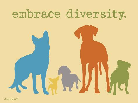 Embrace Diversity Stampa artistica