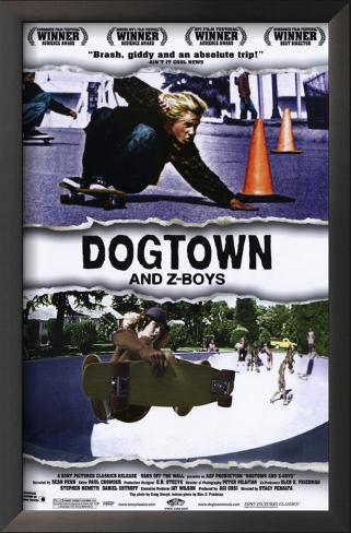 Dogtown &  Z-Boys: Onde Tudo Começou Impressão artística emoldurada
