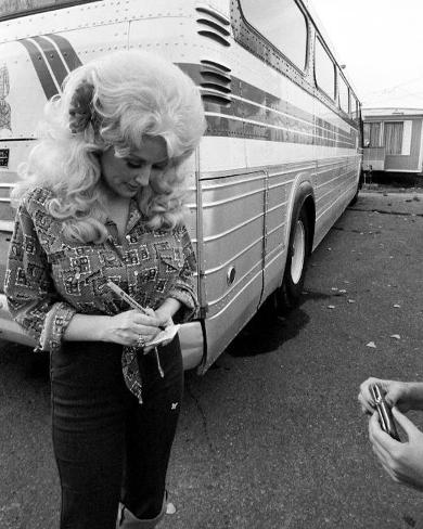 Dolly Parton, Charlie Auringer, 1973 Photo