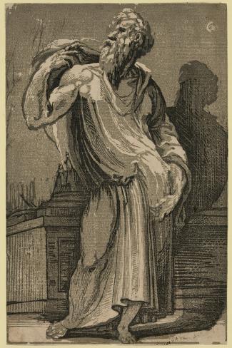 A Philosopher, Between 1500 and 1552 Lámina giclée