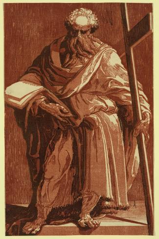 St. Philip (Or Andrew?), Between 1500 and 1552 Lámina giclée