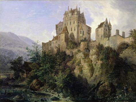 Eltz Castle Giclee Print
