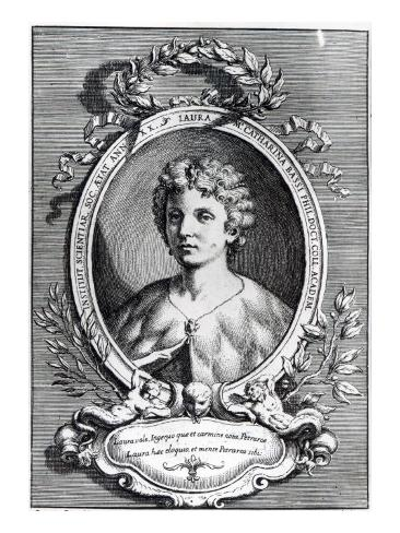 Laura Maria Caterina Bassi Stretched Canvas Print