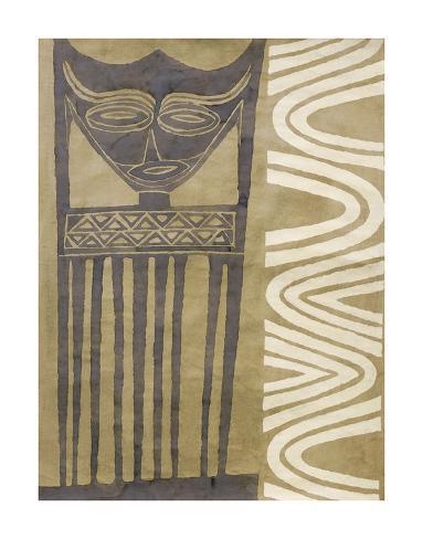 Maschera tribale Stampa artistica