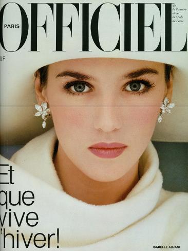 L'Officiel, November 1983 - Isabelle Adjani Taidevedos