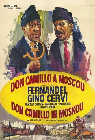 Don Camillo in Moscow - Belgian Style Poster