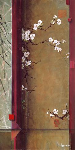 Blossom Tapestry I Art Print