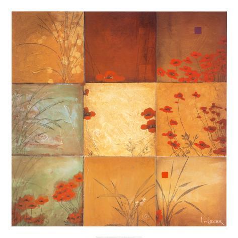 Poppy Nine Patch Canvas Set