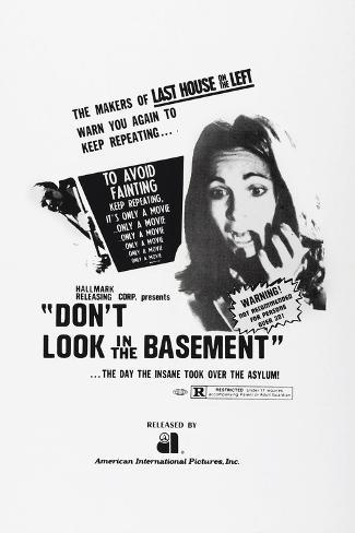 Don't Look in the Basement, 1973 Art Print