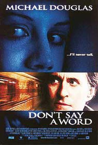Don't Say A Word Original Poster