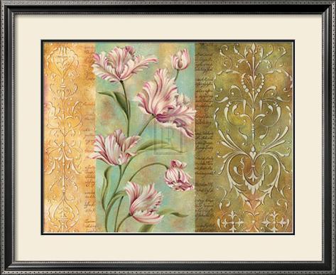 Regency Detail II Framed Art Print