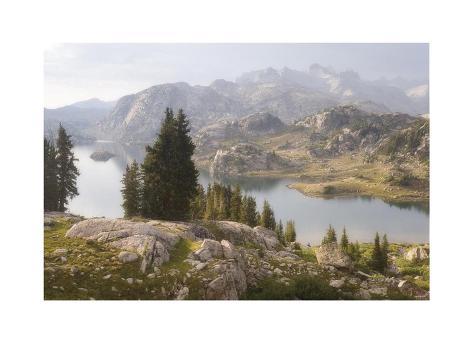 Isand Lake II Giclée-vedos