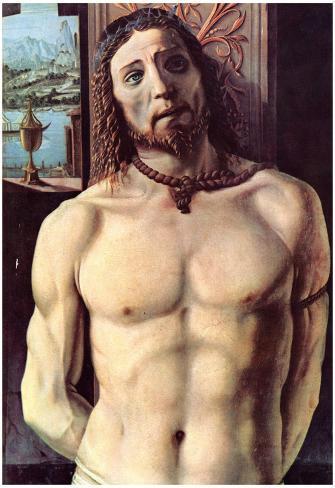 Donato Bramante Christ Bound to the Column Art Print Poster Póster